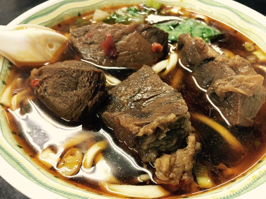 小陳牛肉麺の牛肉麺