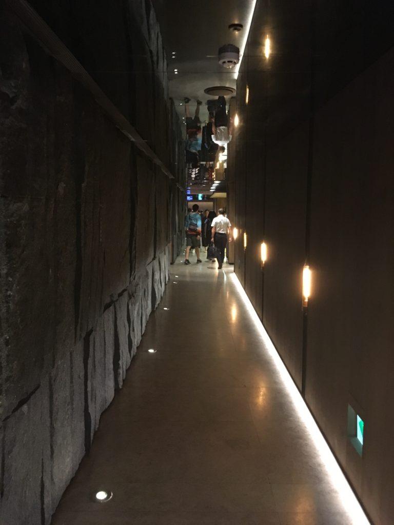 桃園空港第一ターミナルのチャイナエアラインラウンジ