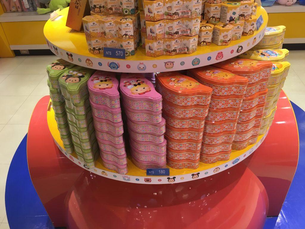 桃園空港のツムツムお菓子