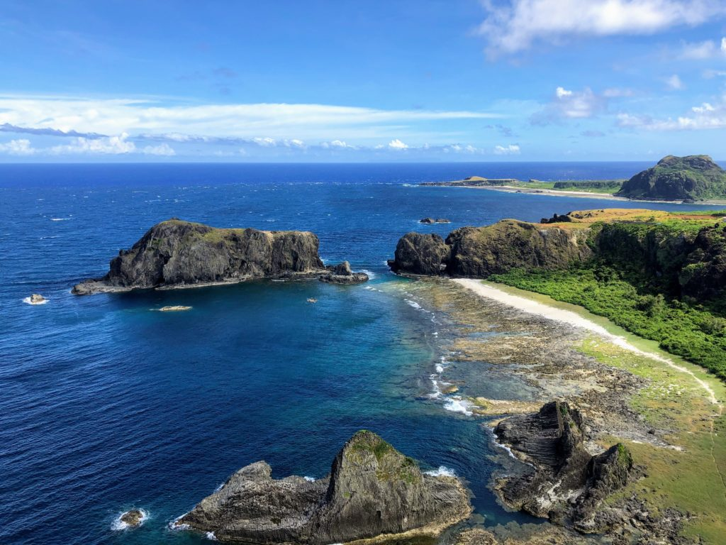 緑島の犬の岩
