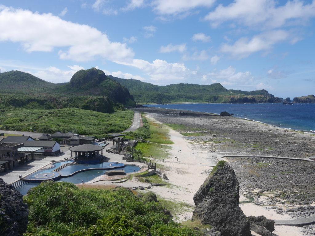 緑島の朝日温泉