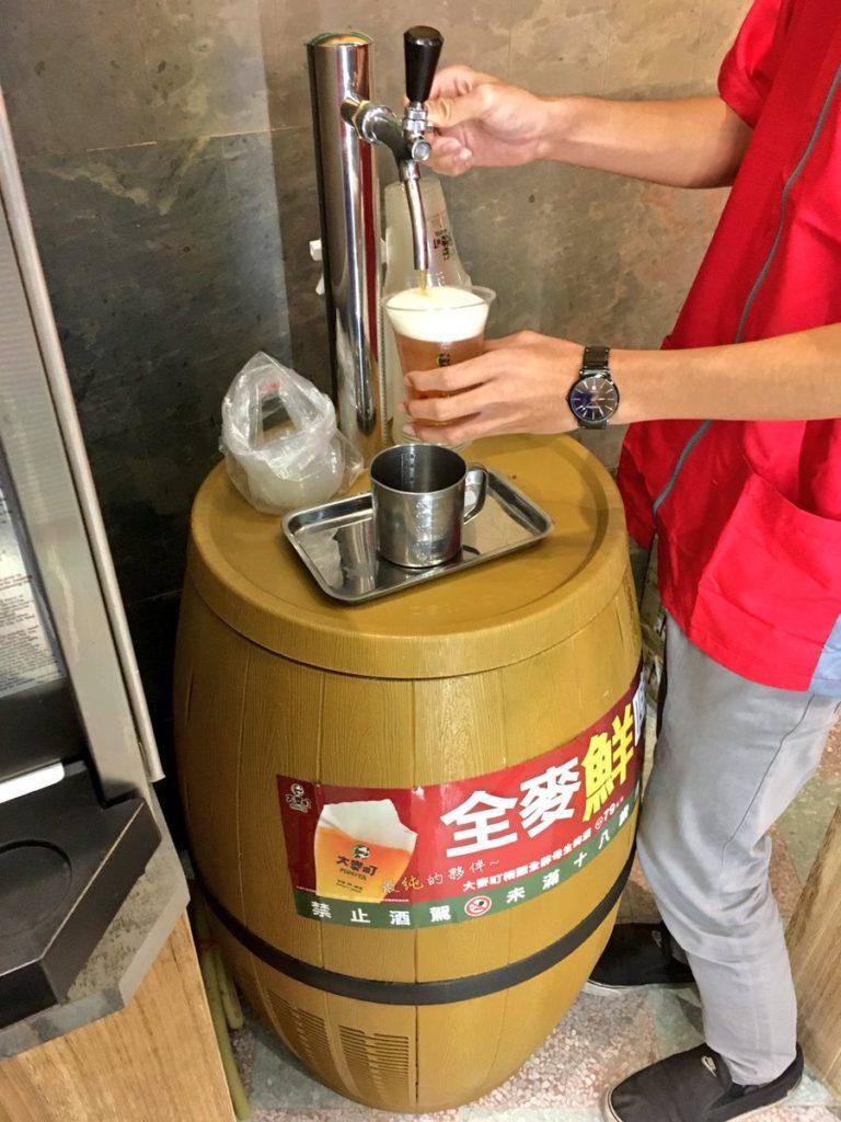 台北コンビニビール