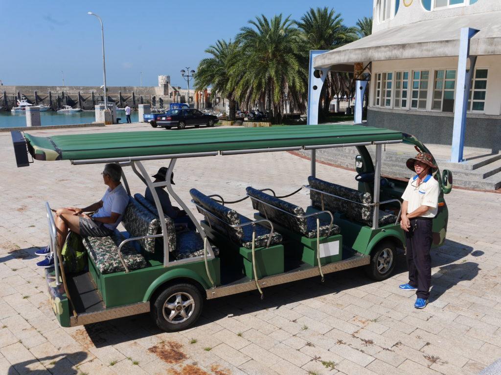 小金門のツアーバス