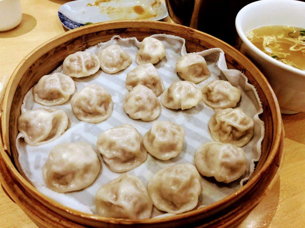 黄龍荘の蘇州式ミニ小籠包