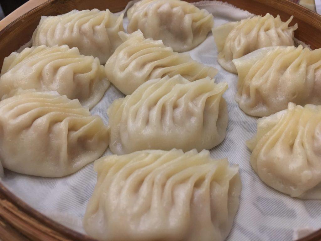 黃龍莊の蒸し餃子