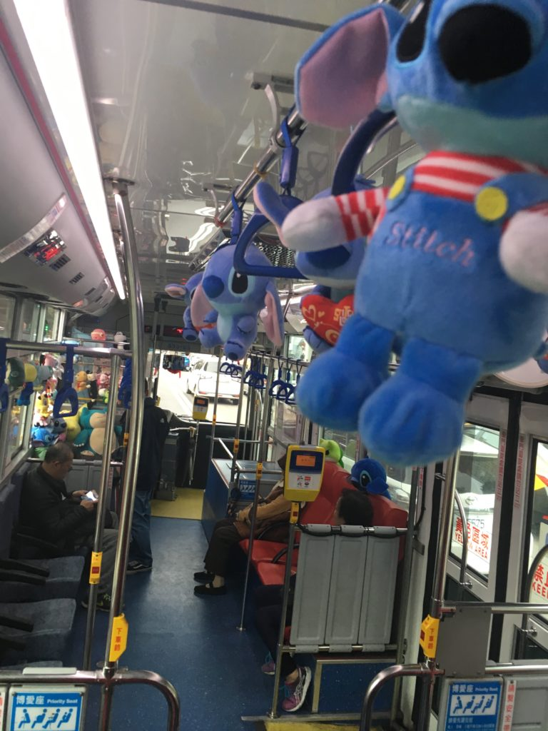 松山空港行きのバス