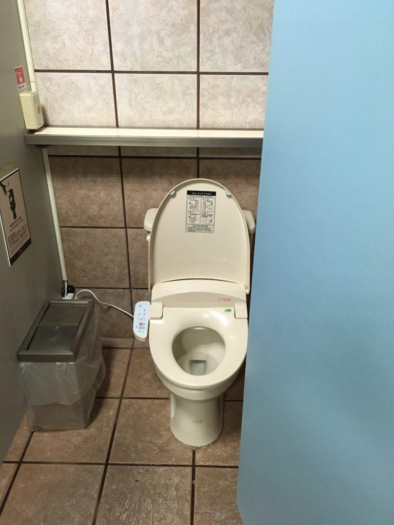 台東空港のトイレ