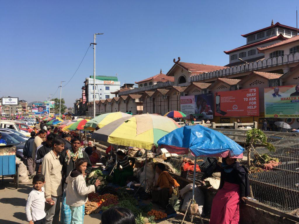 インパールのイママーケット