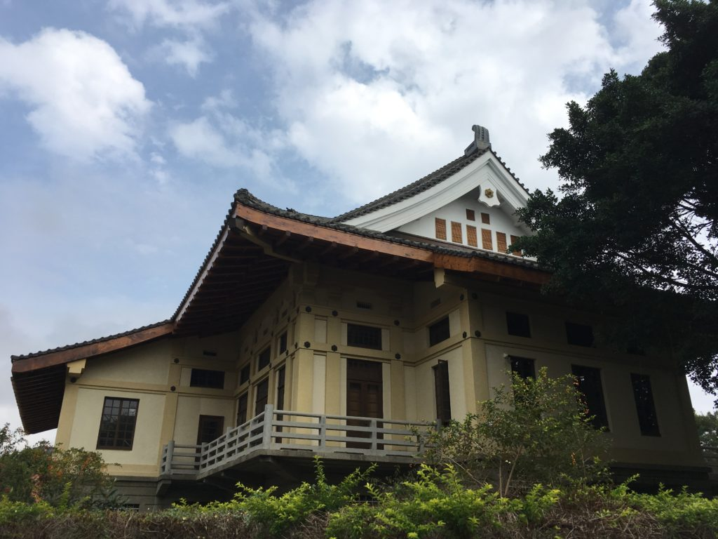 台南武徳殿側面