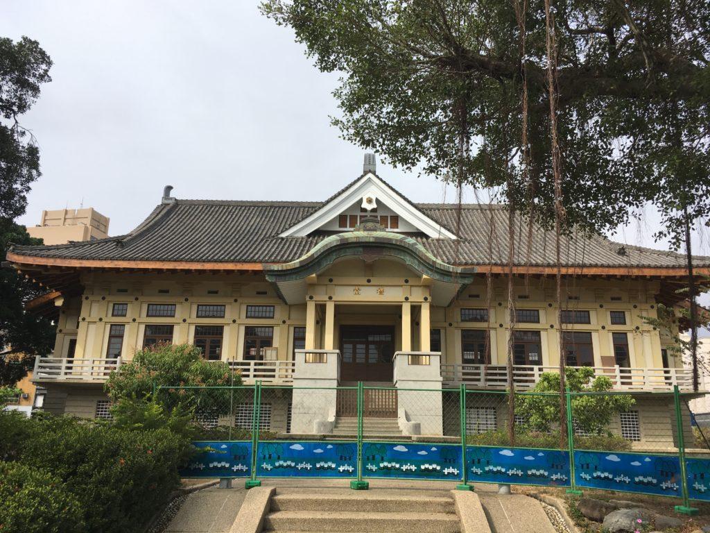 台南武徳殿正面