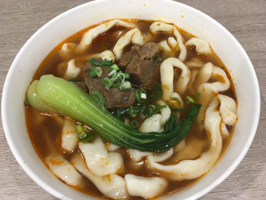 朱記の牛肉麺