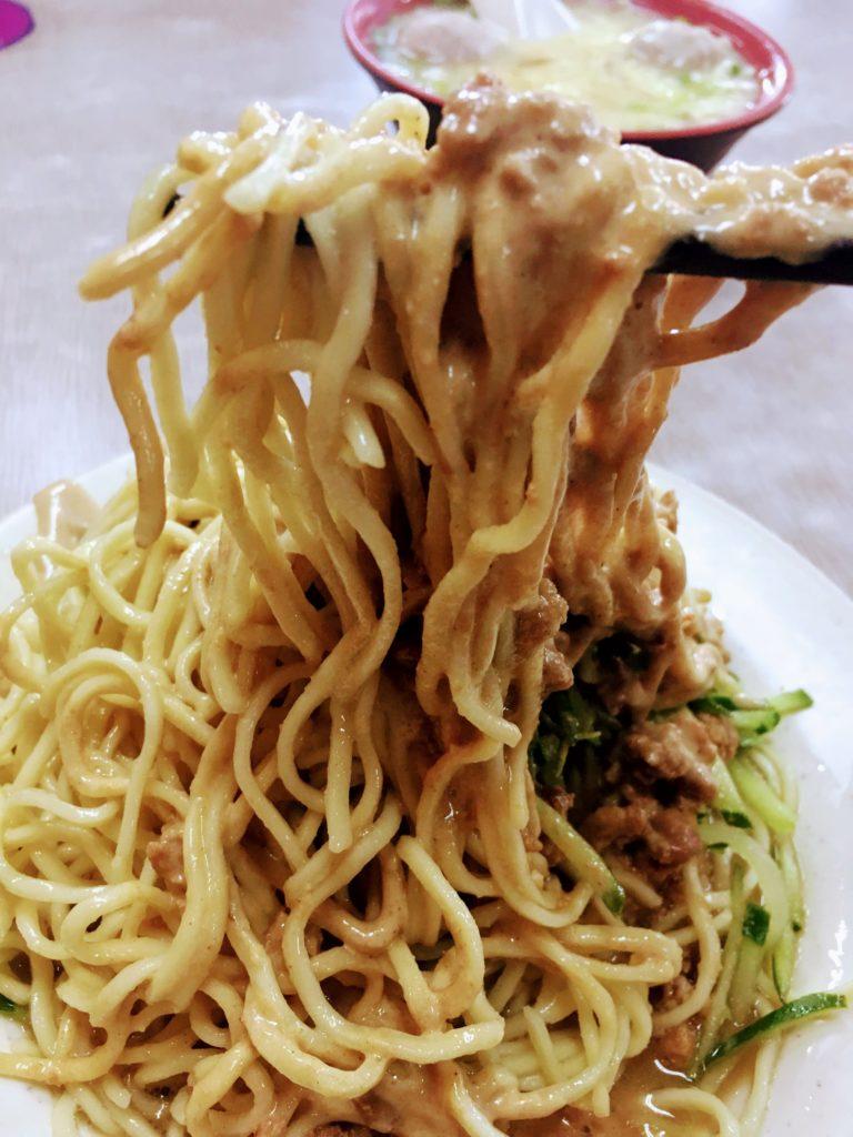 永吉涼麺の涼麺