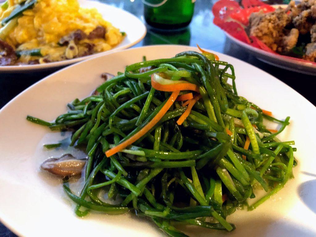 甎窯古早料理餐庁の料理
