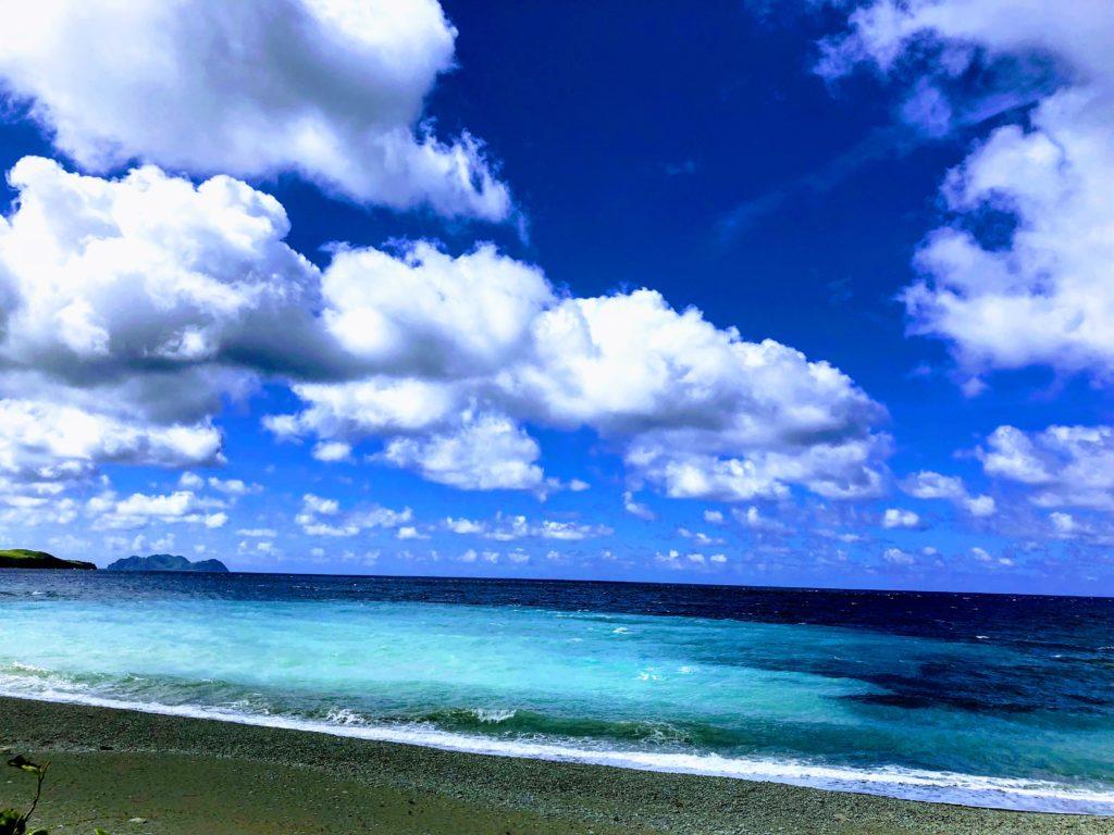 蘭嶼の海辺