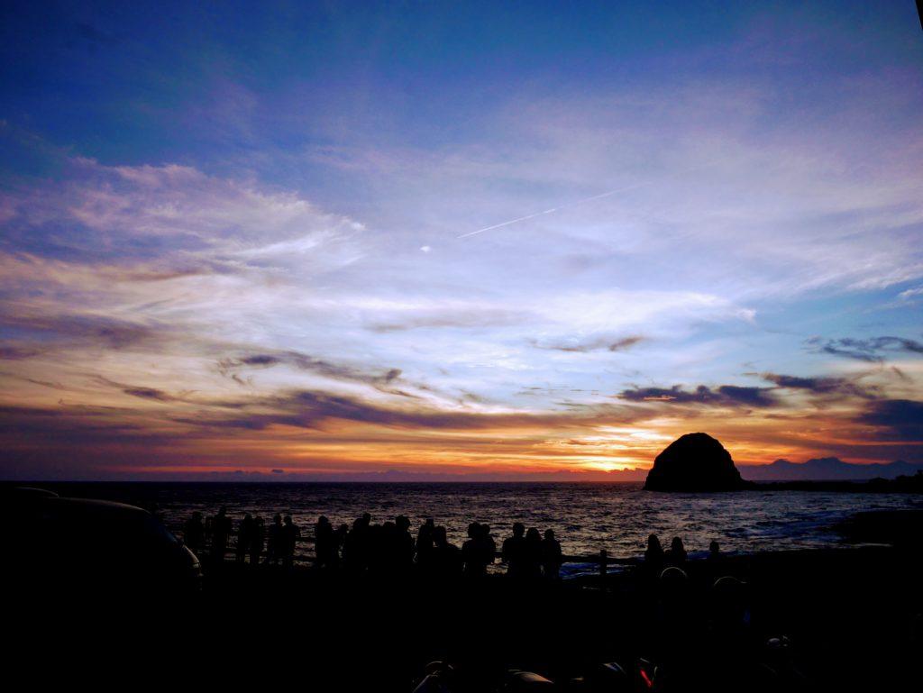 蘭嶼の夕暮れ