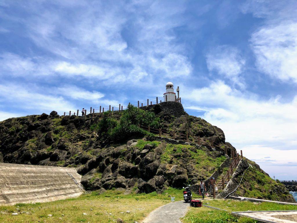 開元港の灯台