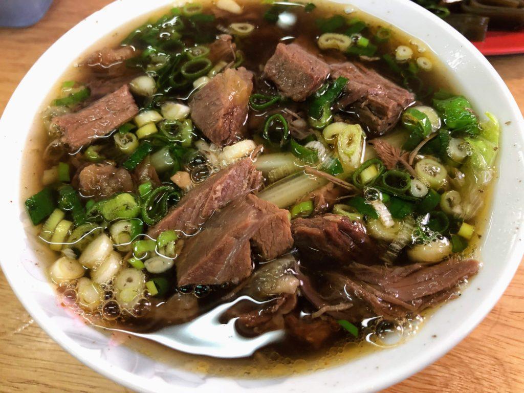 林家藥燉原汁牛肉麵大王の牛肉麺