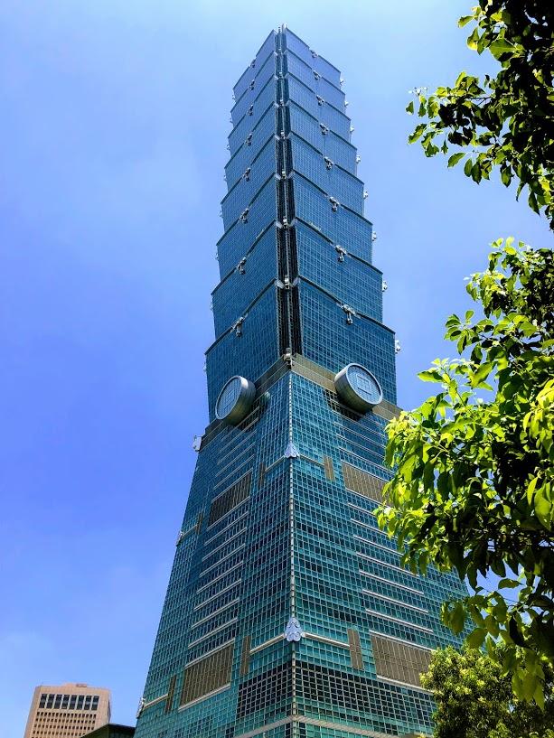 台湾のランドマーク、台北101