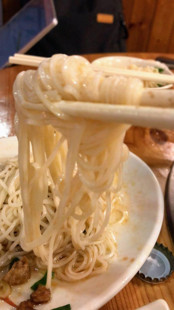 林森北路の麺線