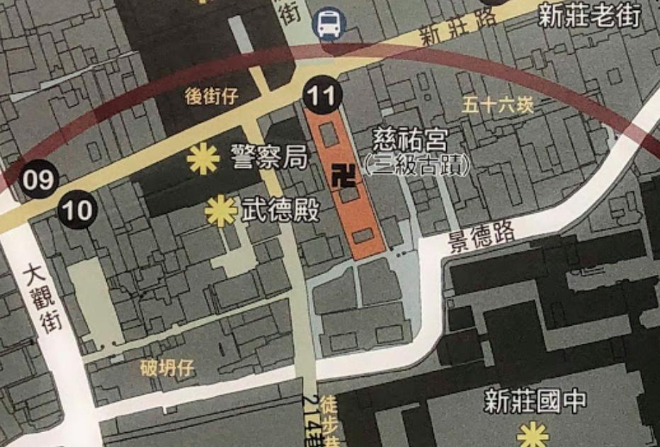 新荘駅周辺地図