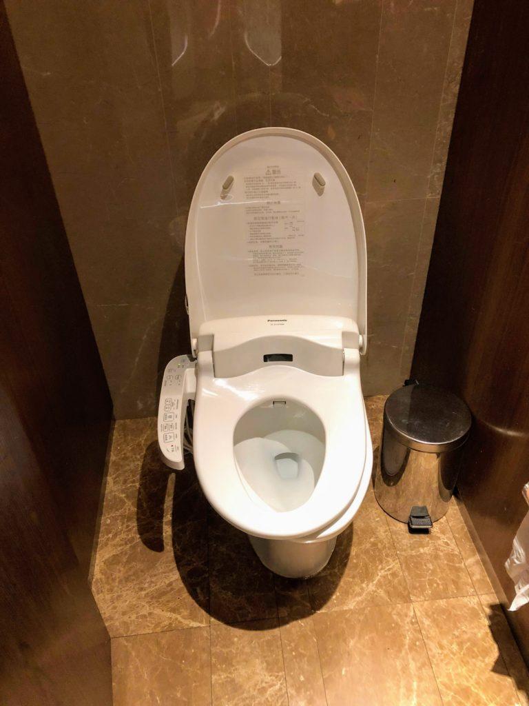 台北、ロイヤルニッコーのトイレ