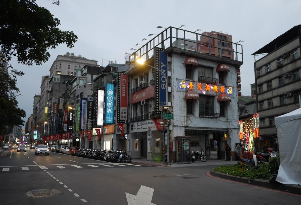 博愛路の台北カメラ街