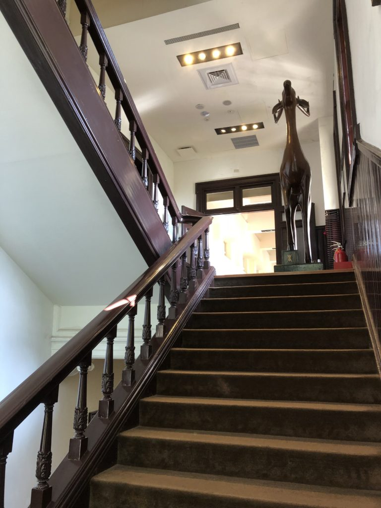国立台湾博物館の階段