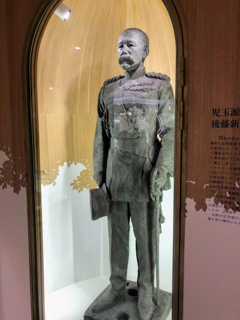 児玉源太郎の銅像