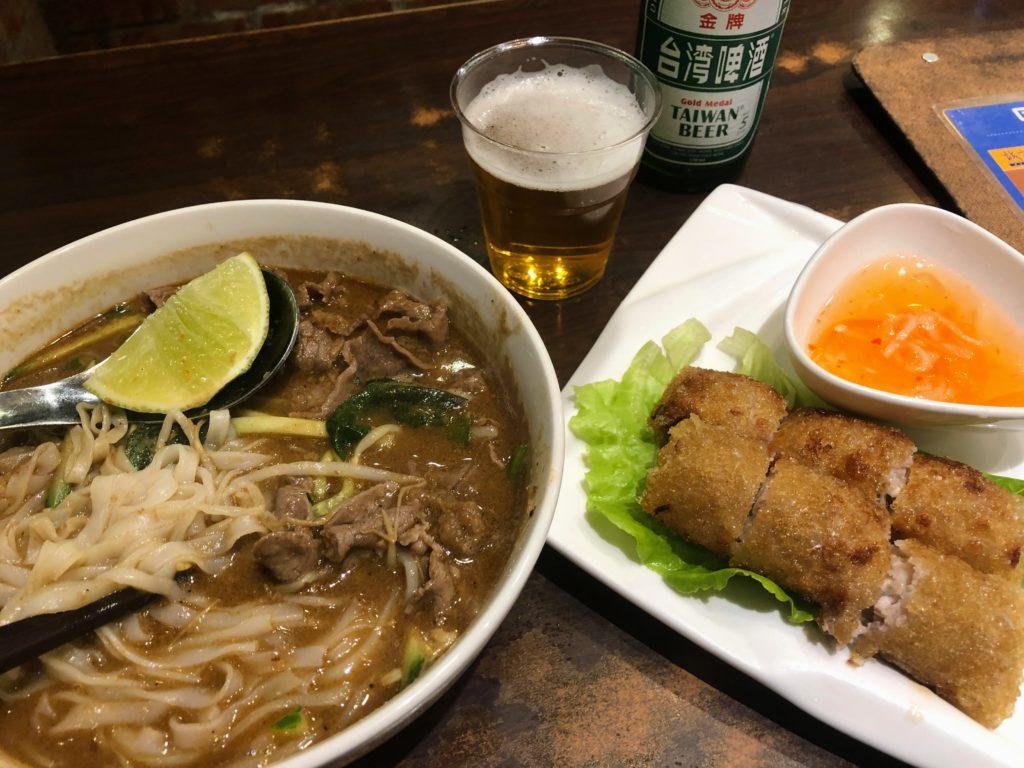 誠記越南麺食館のフォー