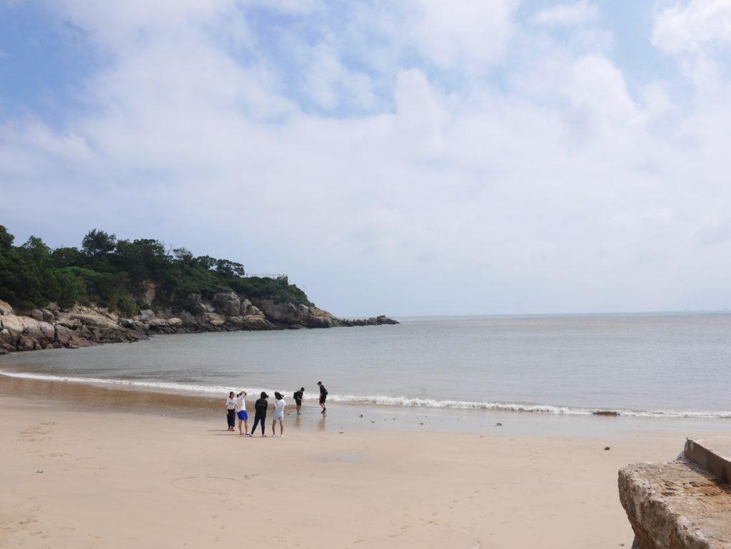 津沙のビーチ